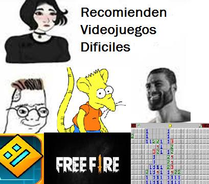 Recomienden Videojuegos - meme