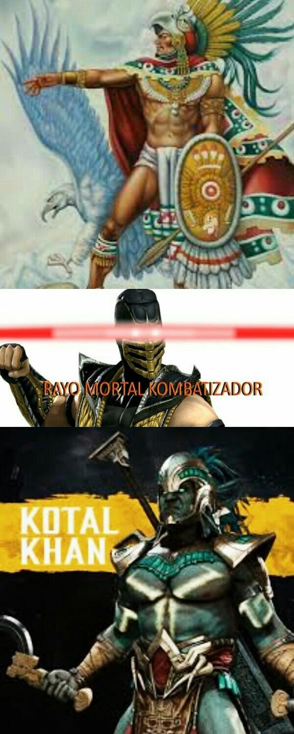 Rayo mortal kombatizador - meme