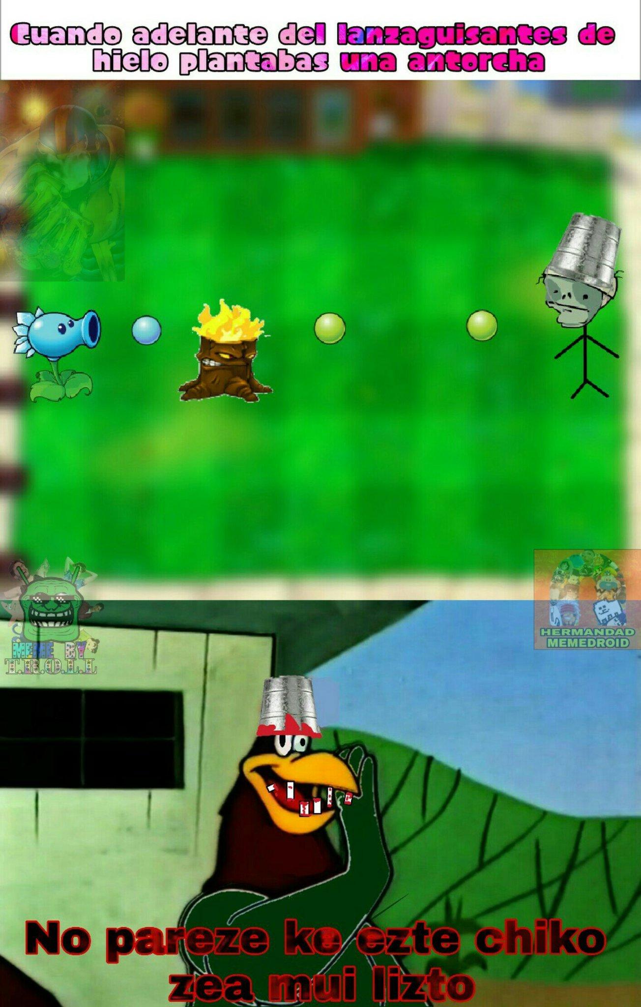 No es gracia conio, asi hablan los zombis en el primer juego - meme