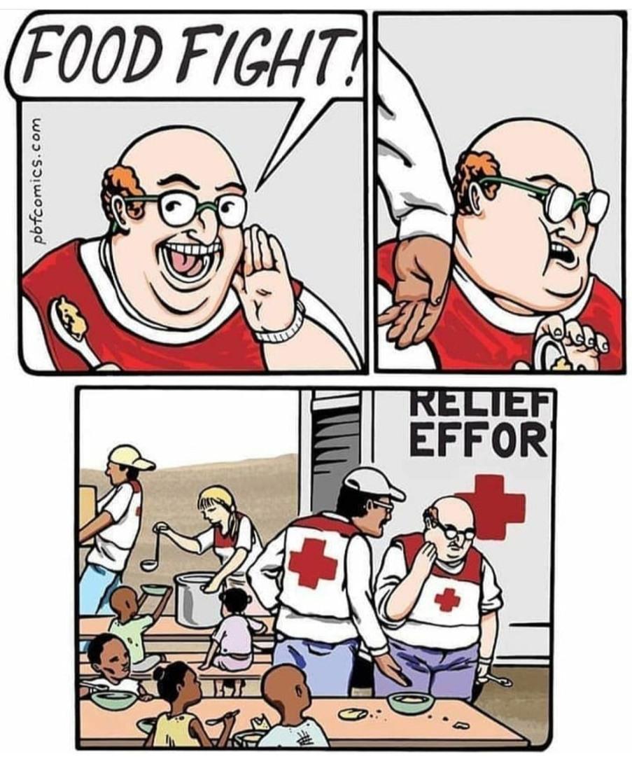 Ça a gechan la croix rouge - meme