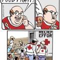 Ça a gechan la croix rouge