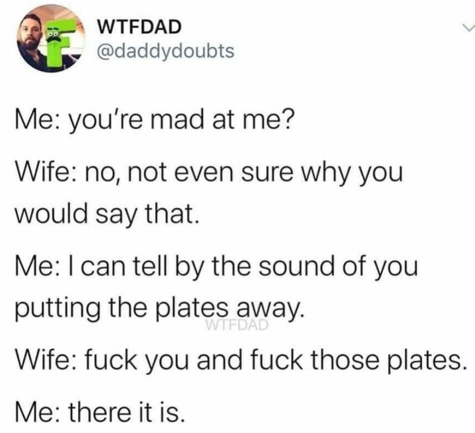 Do those dishes woman - meme
