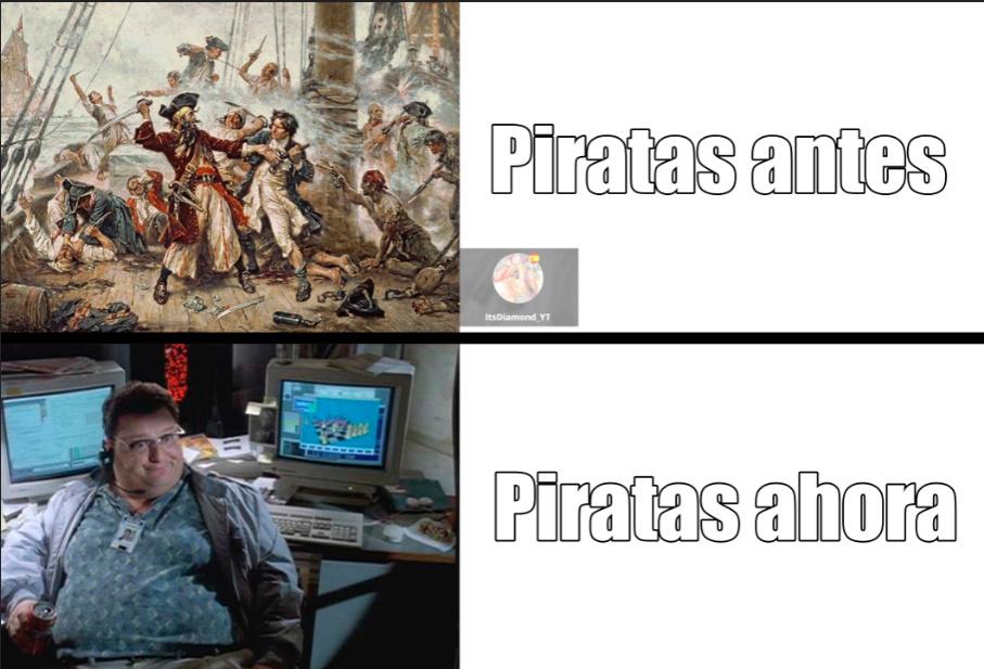 Piratas jajan't - meme