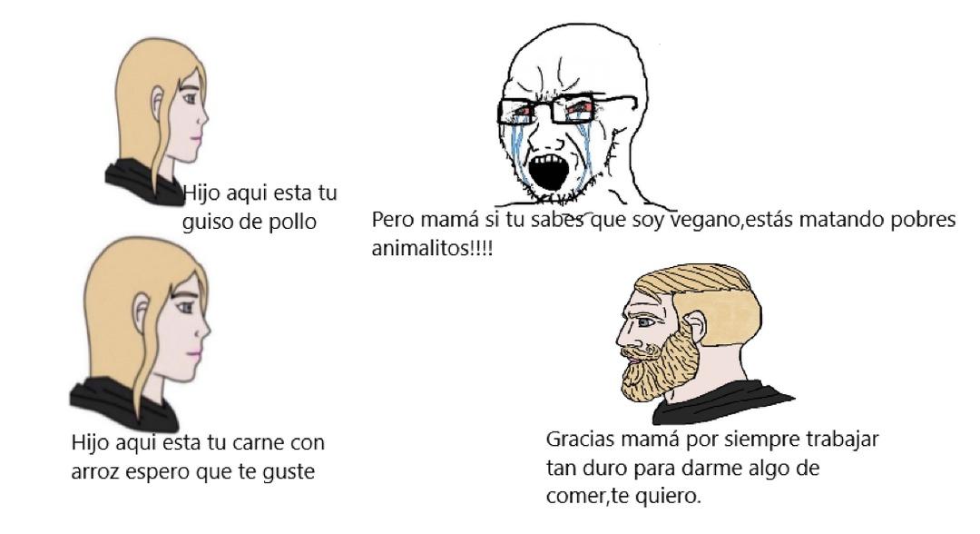 Mamá chad :0 - meme