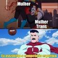 """Título foi espancado pela """"mulher"""" trans"""