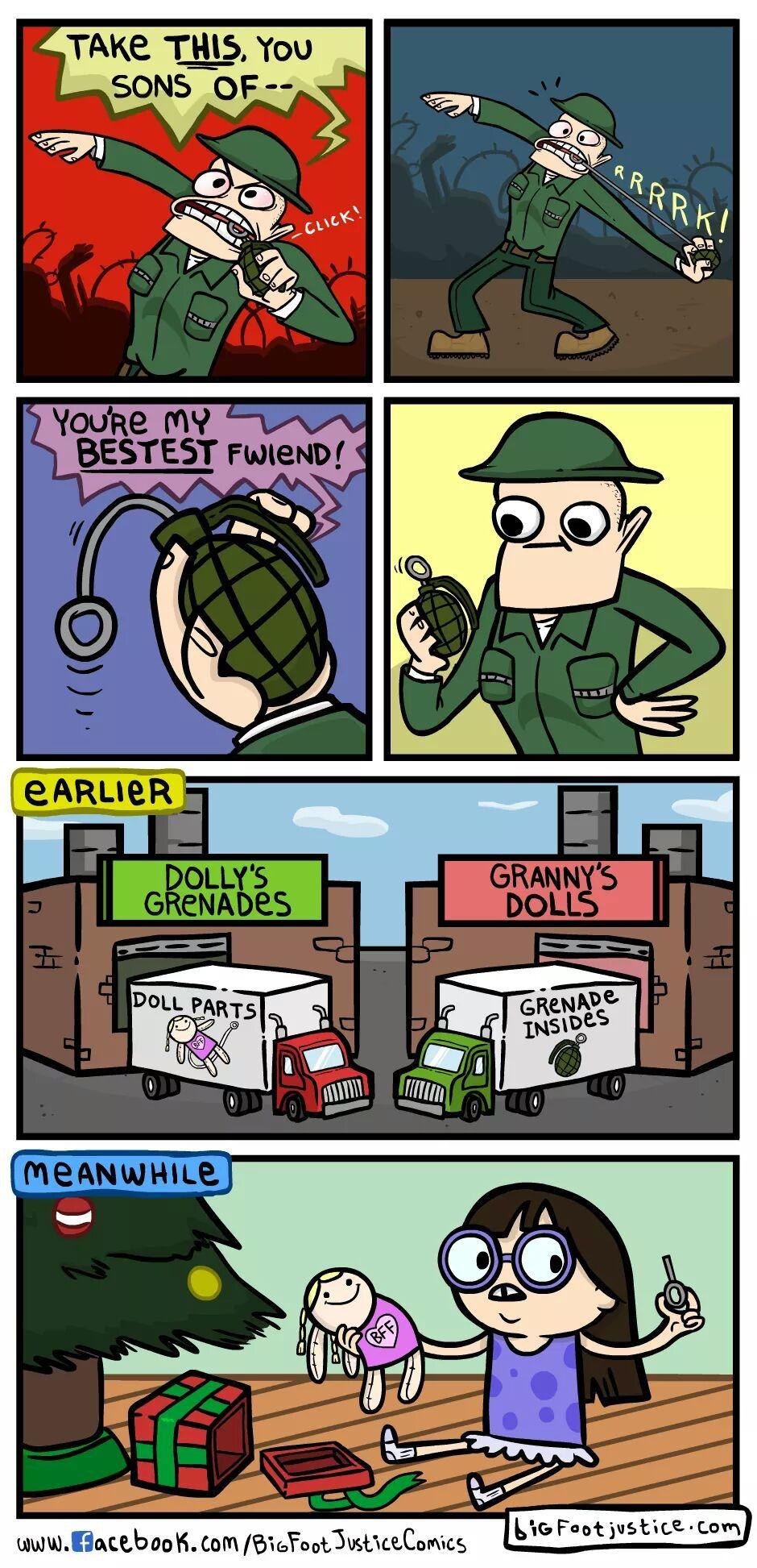 Grenade insides - meme