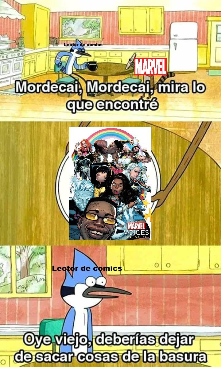 Marvel Voices no sirve... - meme