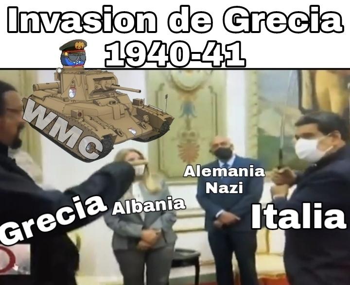 Re pendejos los dirigentes italos - meme