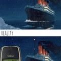 Les autorités : le Titanic a coulé à cause d'un grand iceberg…