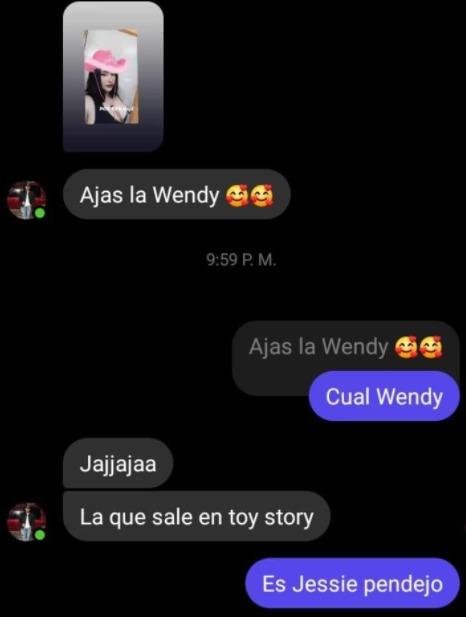 jajaja la wendy - meme