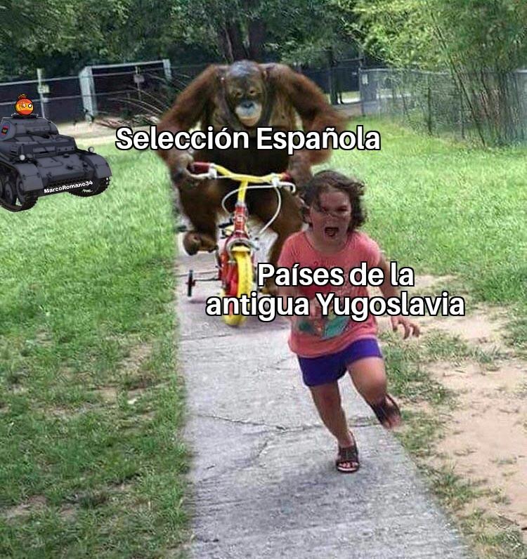España se los está violando - meme