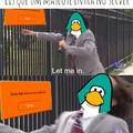 Eis que um mascote entra no server