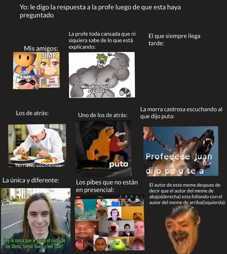 El autor de el meme de la derecha(abajo) esta follando con el autor del meme de la izquierda (abajo) :son: