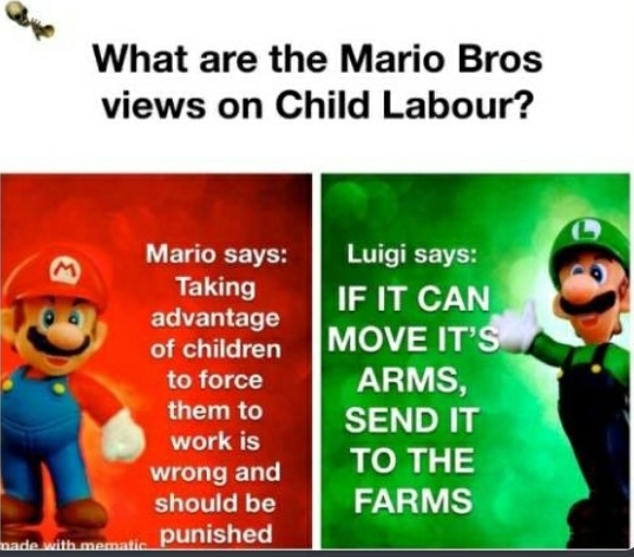 I like the way Luigi thinks - meme