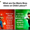 I like the way Luigi thinks