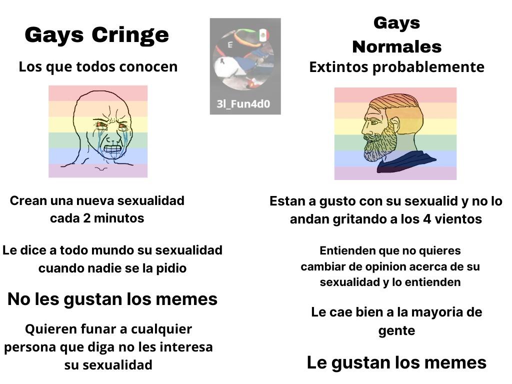 mi primo es gay ._. lol - meme