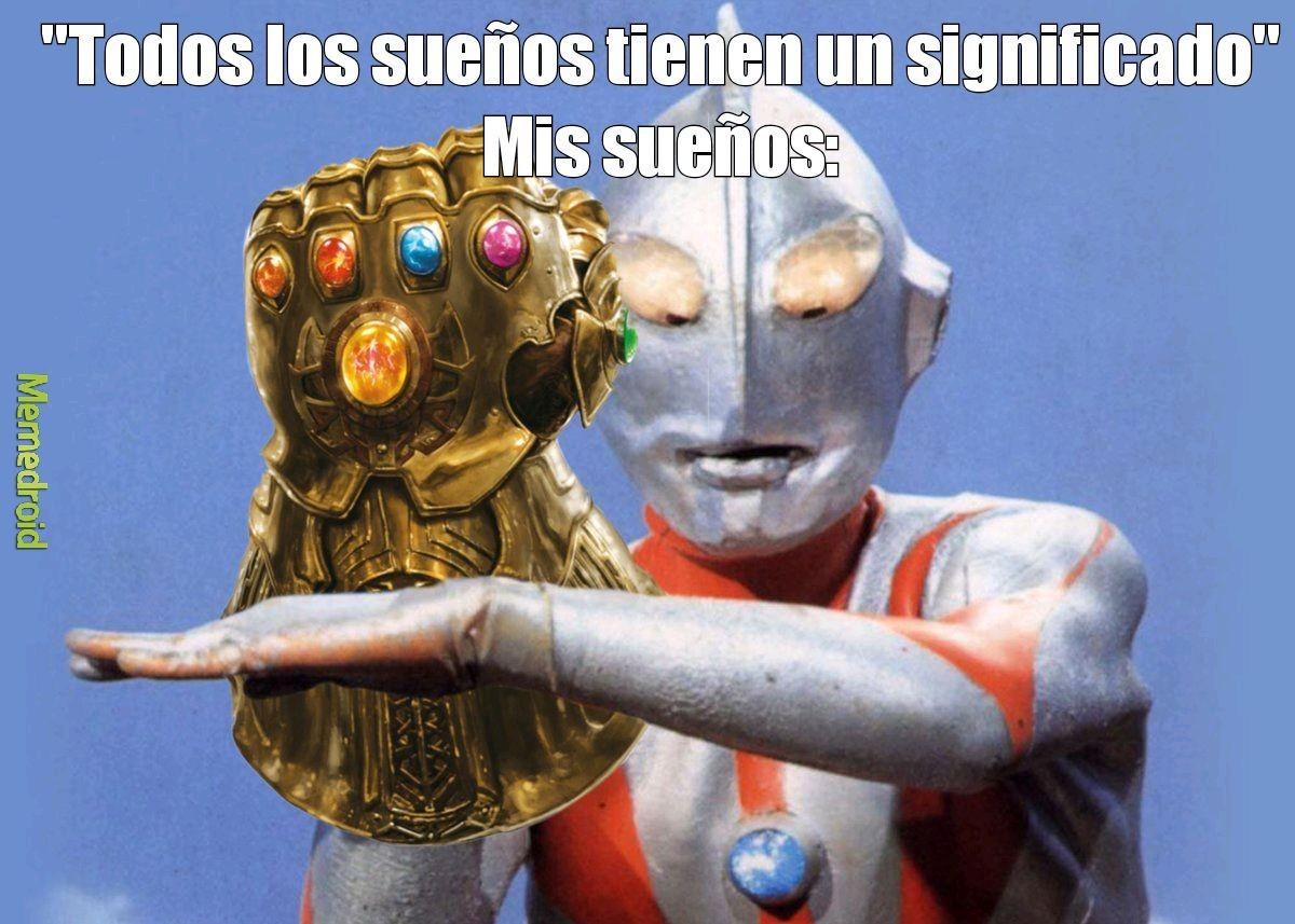 Ultraman tanos - meme