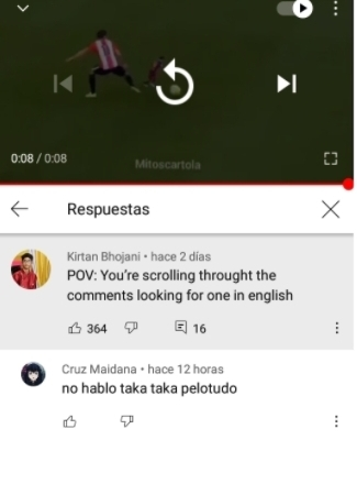 Lo pueden buscar en Youtube si quieren - meme