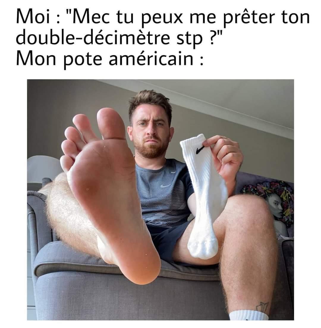 Envoie pieds - meme
