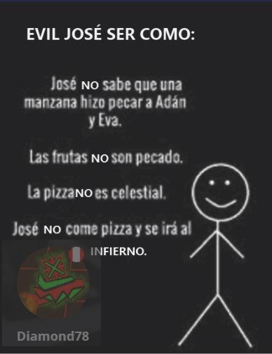 Evil José - meme