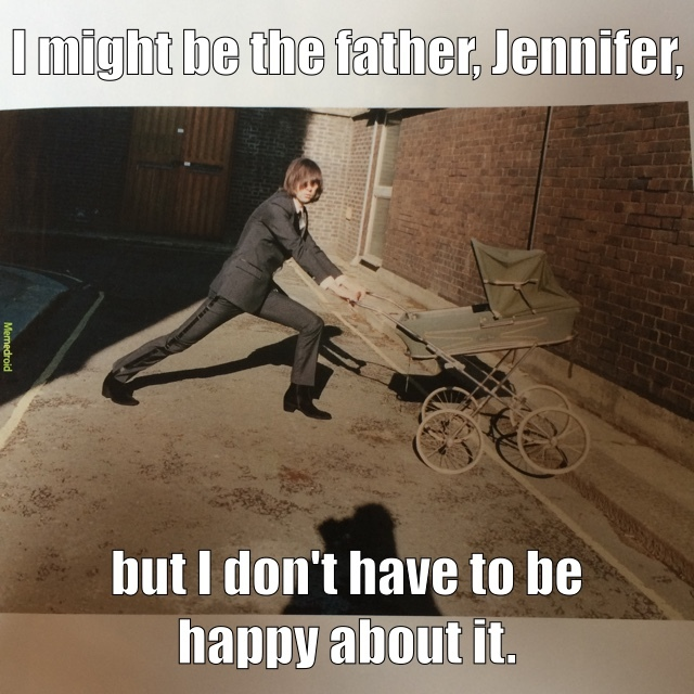 Jennifer, you fat lard - meme