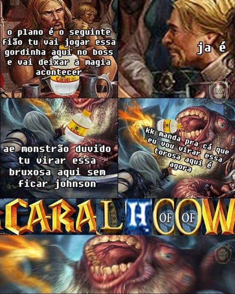 CARALHOOOW - meme