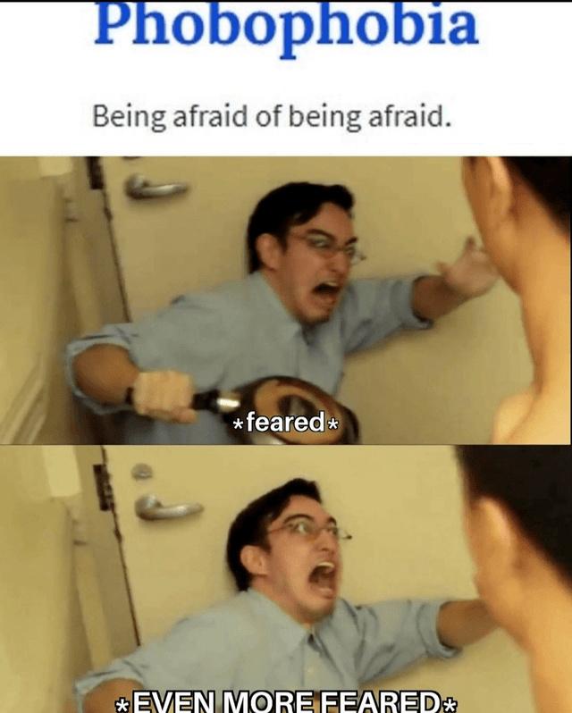 Phobophobia - meme