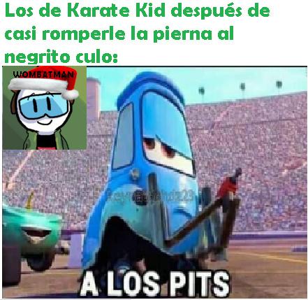 A los pits - meme