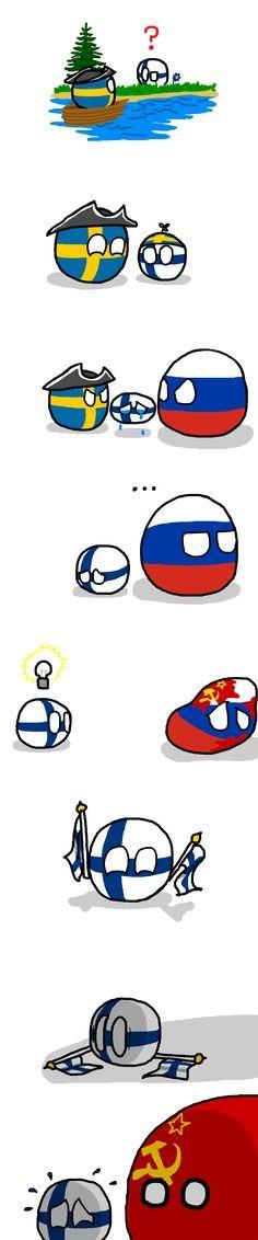 L'histoire de la Finlande :) - meme