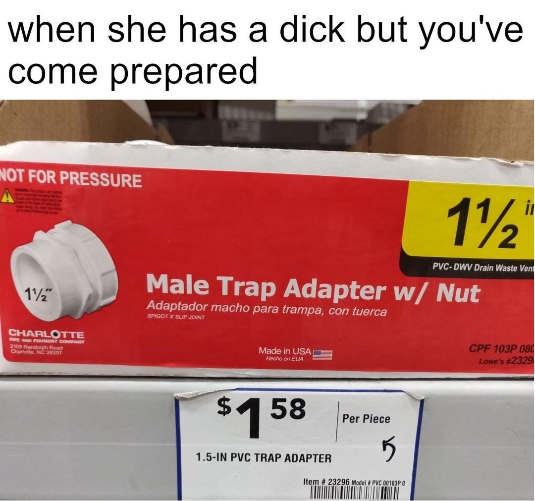 Be prepared - meme