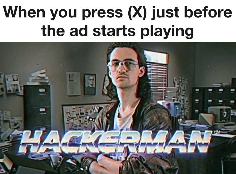 I am hackermun - meme