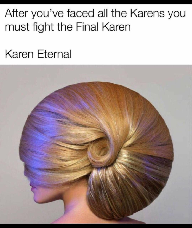 Ultra Karen instinct - meme