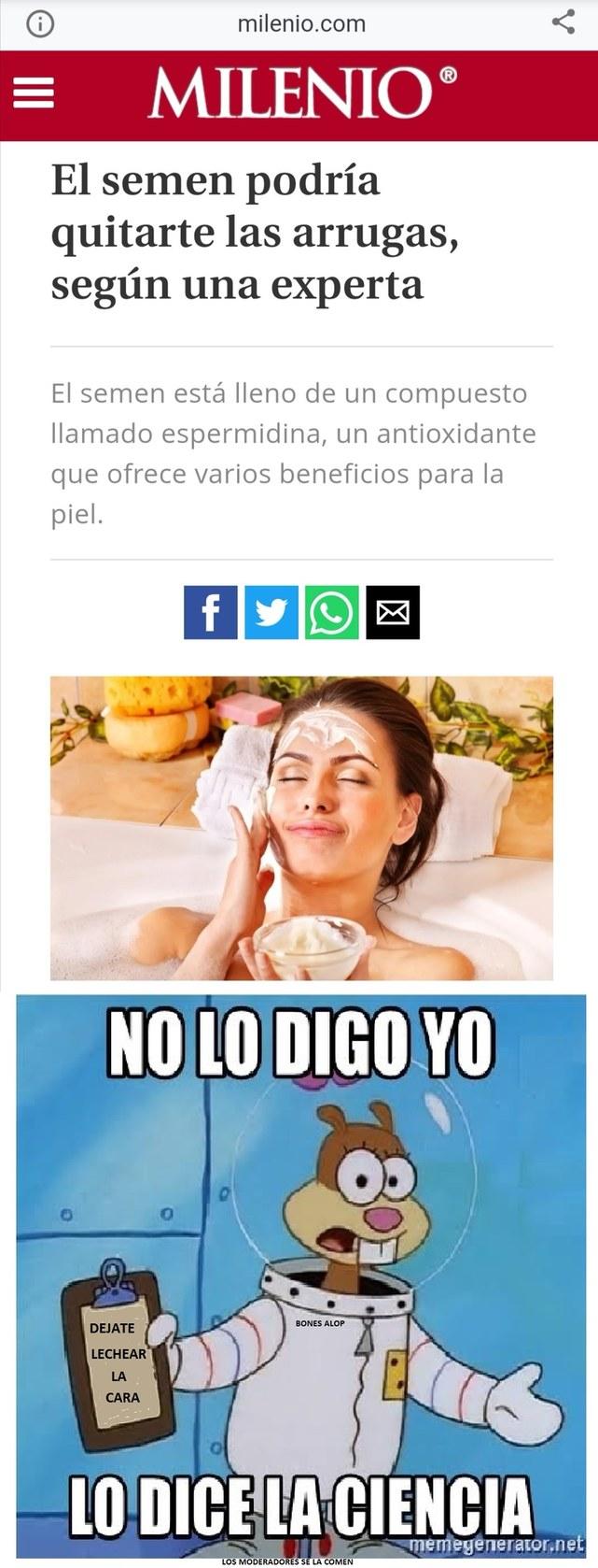 LA CIENCIA NO SE EQUIVOCA - meme