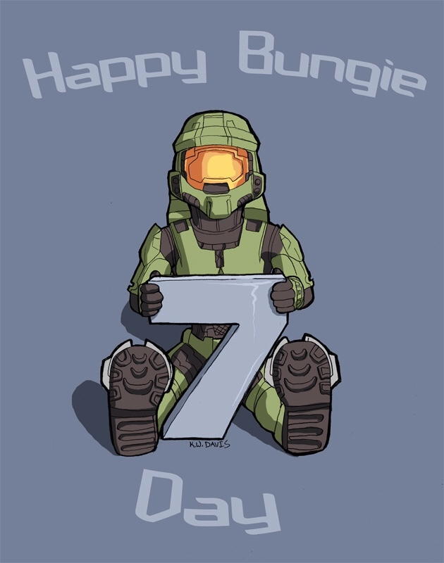 Happy Bungie day! - meme