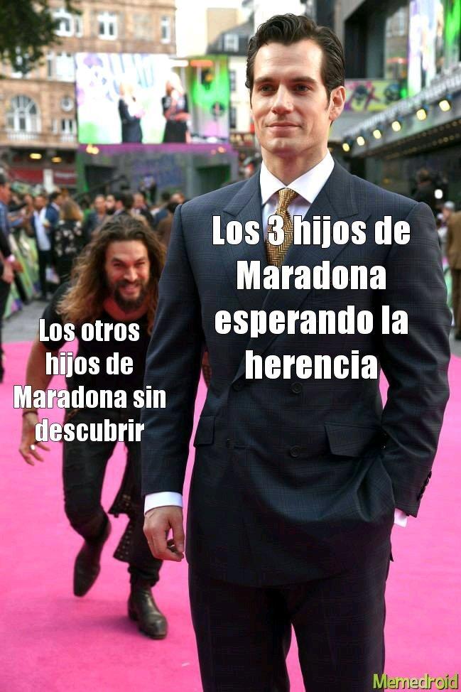 El club maradona - meme