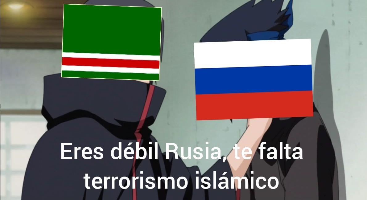 Plot twist: al final los Rusos ganaron - meme