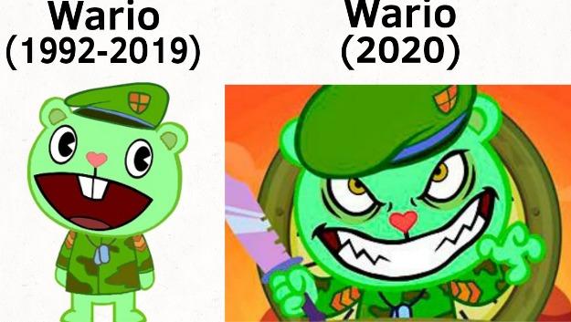 Como una cabeza de Wario se convirtió en el creepypasta mejor desarrollado de los últimos 10 años? :yaoming: - meme