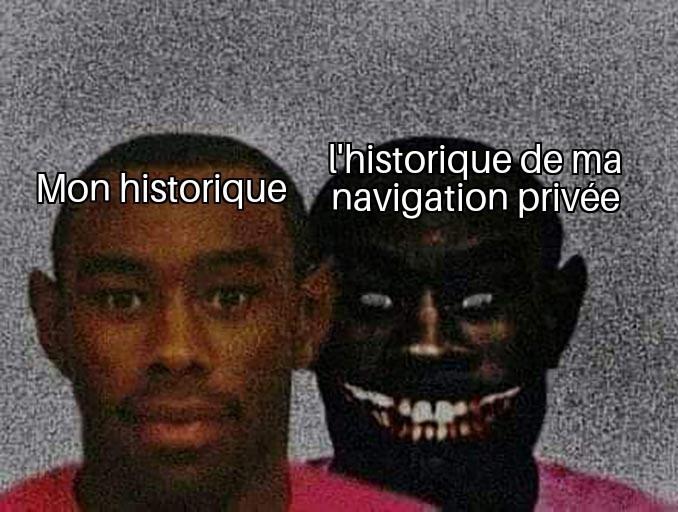 Mon historique - meme