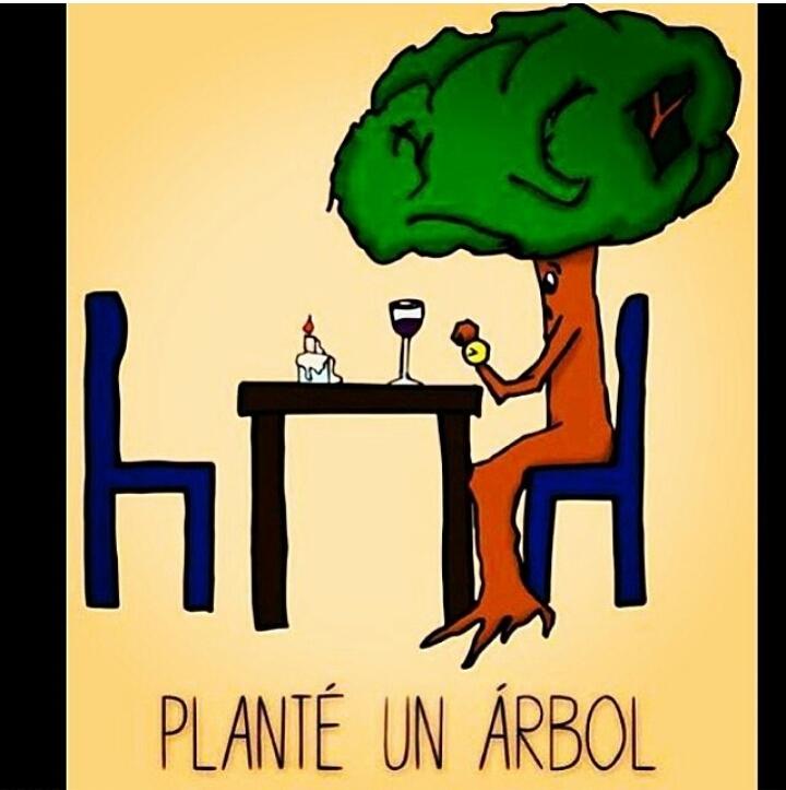 Plantemos árboles. - meme