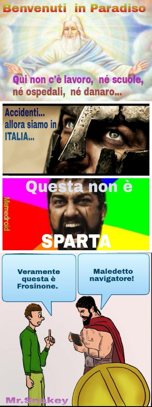 Battuta Spartana... - meme