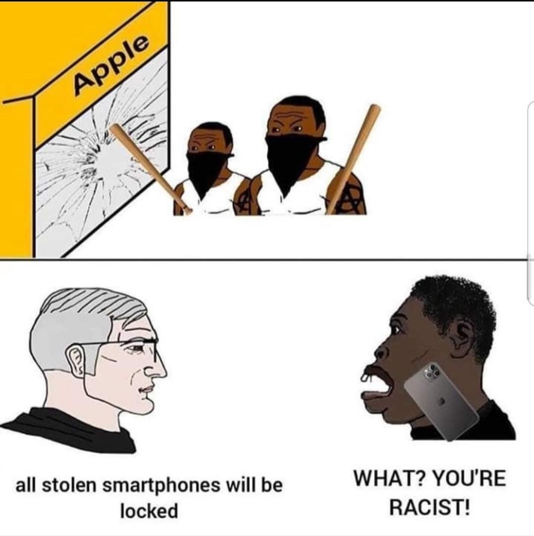 Smash racism - meme