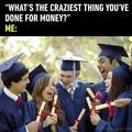 What money?