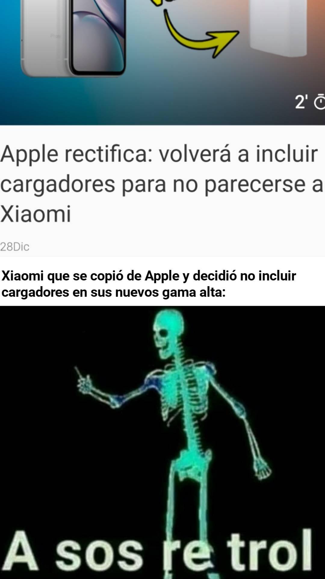 Nooo Xiaomi, ya no sos calidad precio. - meme