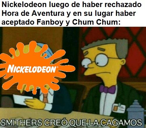 En fin, simplemente Nick. - meme