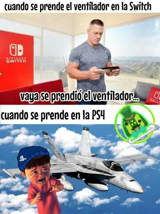 PS4 vENtiLAdoR - meme