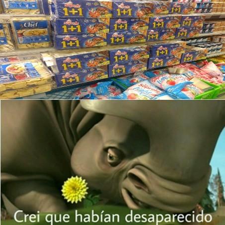 Aun hay cereales con mascotas de productos! - meme