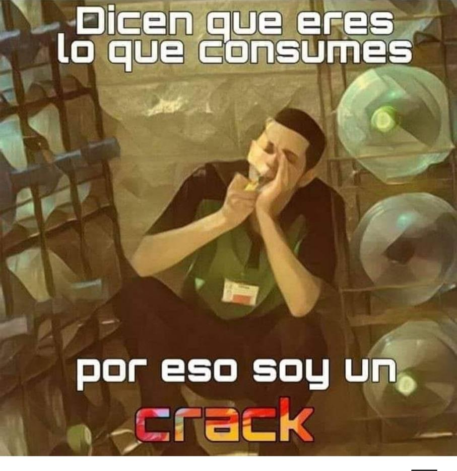 Un crack - meme