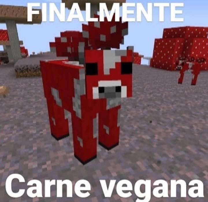 Carne vegana - meme