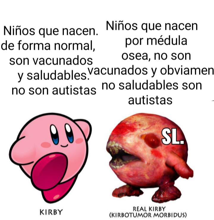 Kirbotumor morbidus - meme