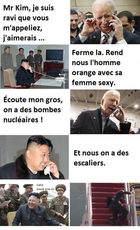 L'arme ultime de Kim - meme